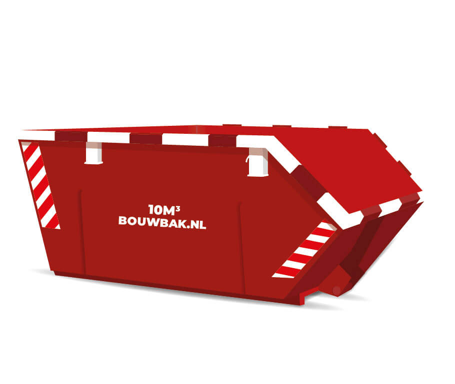 Bouwafval container 10M³
