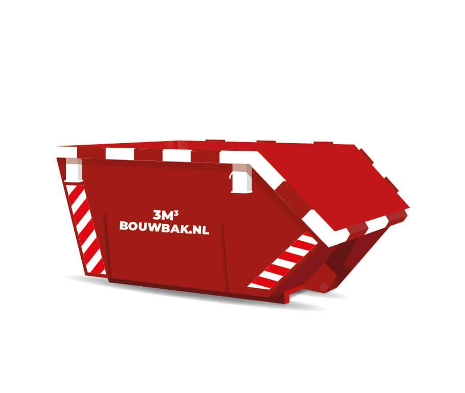 Afvalcontainer Dakafval 3M³