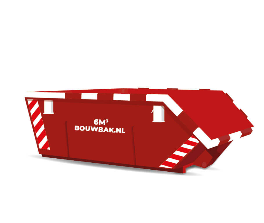 Afvalcontainer Grond 6M³