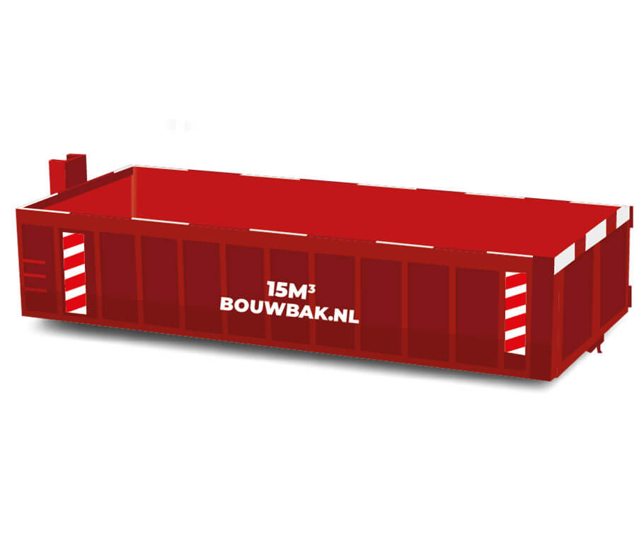 Afvalcontainer Houtafval 15M³