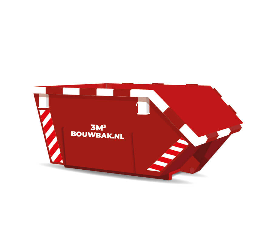 Afvalcontainer Houtafval 3M³