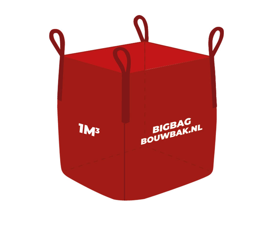 Big Bag Houtafval 1m³